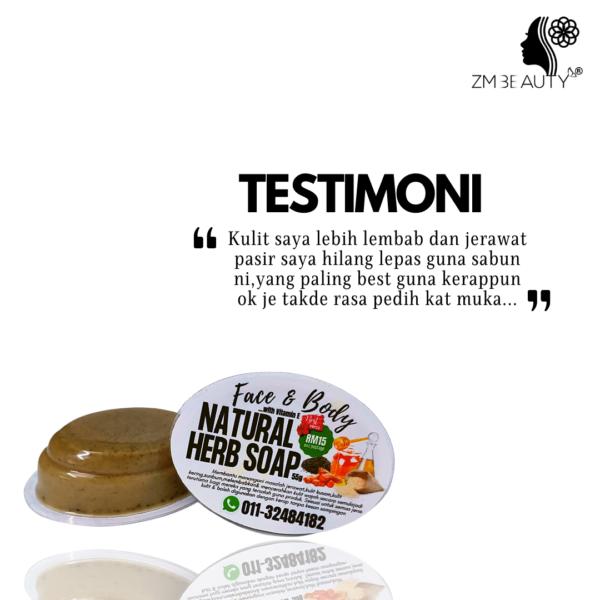 natural herbal soap