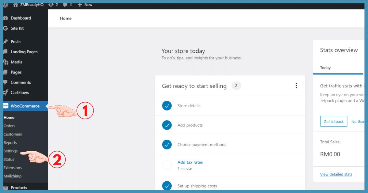 5 langkah setting email notifikasi woocommerce di wordpress11