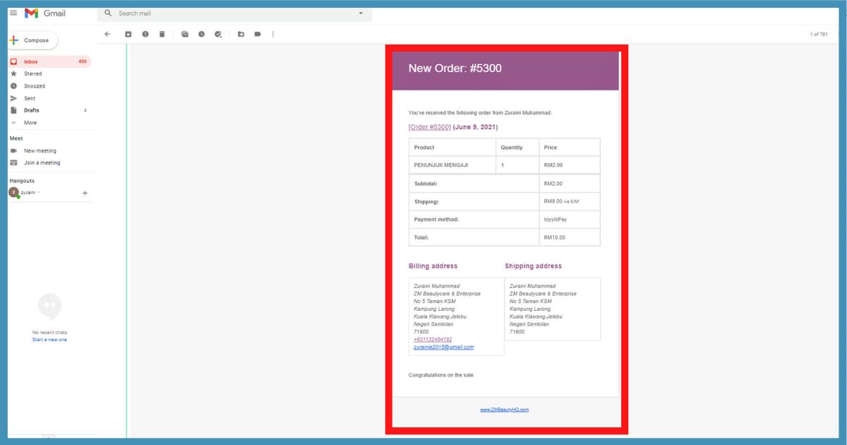 5 langkah setting email notifikasi woocommerce di wordpress14