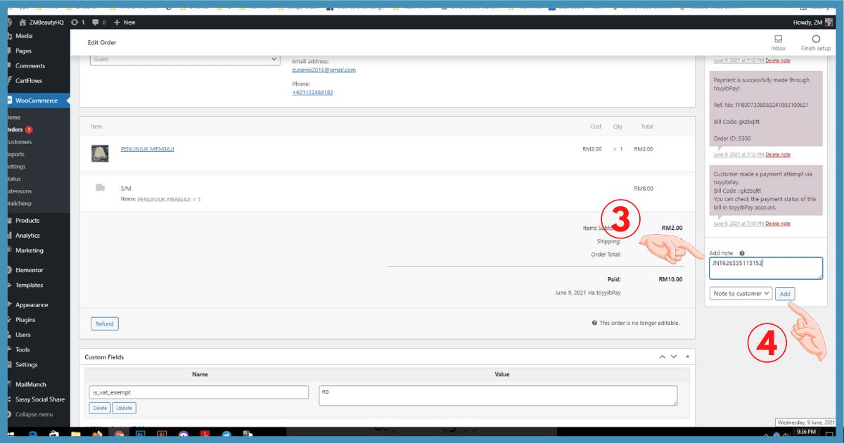5 langkah setting email notifikasi woocommerce di wordpress18