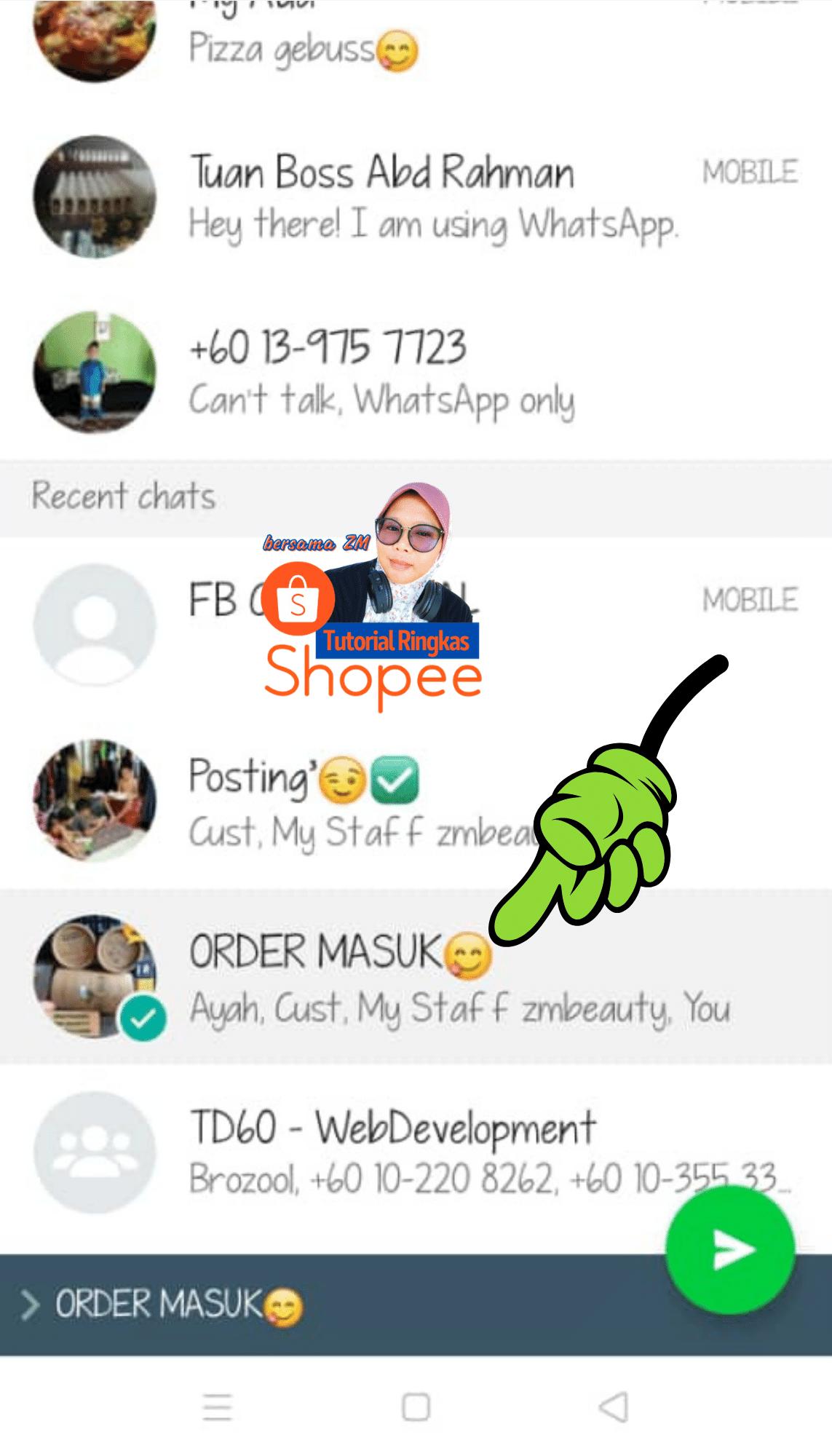 dropship di shopee - cara dropship hantar waybill shopee kepada supplier 202116